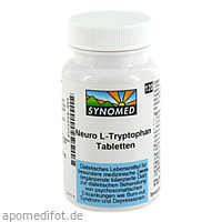 Neuro-L-Tryptophan Tabletten, 120 ST, Synomed GmbH