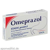 Omeprazol STADA protect 20mg magensaftres. Tabl., 7 ST, STADA Consumer Health Deutschland GmbH
