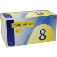 Novofine 8 Kanülen 0.30x8mm TW, 100 ST, Eurimpharm Arzneimittel GmbH
