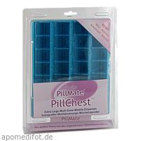 Tablettenbox 1 Woche 28 Fächer mit Klappdeckel, 1 ST, Careliv Produkte Ohg