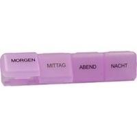 Tablettendose 1 Tag 4 Fächer gross, 1 ST, Careliv Produkte Ohg