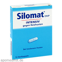 Silomat DMP intensiv gegen Reizhusten, 12 ST, Sanofi-Aventis Deutschland GmbH