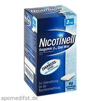 Nicotinell Kaugummi Cool Mint 2mg, 96 ST, GlaxoSmithKline Consumer Healthcare