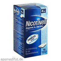Nicotinell Kaugummi Cool Mint 4mg, 96 ST, GlaxoSmithKline Consumer Healthcare