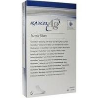 Aquacel-Ag Tamponade m.Verstärkungsfasern 1cmx45cm, 5 ST, Convatec (Germany) GmbH