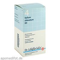 BIOCHEMIE DHU 4 Kalium chloratum D 3 Tabl., 420 ST, Dhu-Arzneimittel GmbH & Co. KG