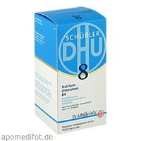 BIOCHEMIE DHU 8 Natrium chloratum D 6 Tabl., 420 ST, Dhu-Arzneimittel GmbH & Co. KG
