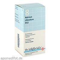 BIOCHEMIE DHU 8 Natrium chloratum D12 Tabl., 420 ST, Dhu-Arzneimittel GmbH & Co. KG