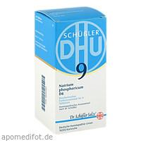 BIOCHEMIE DHU 9 Natrium phosphoricum D 6 Tabl., 420 ST, Dhu-Arzneimittel GmbH & Co. KG