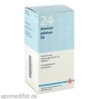 BIOCHEMIE DHU 24 Arsenum jodatum D 6 Tabl., 420 ST, Dhu-Arzneimittel GmbH & Co. KG