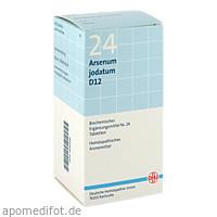 BIOCHEMIE DHU 24 Arsenum jodatum D12 Tabl., 420 ST, Dhu-Arzneimittel GmbH & Co. KG