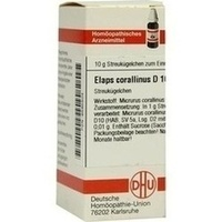 ELAPS CORALLINUS D10, 10 G, Dhu-Arzneimittel GmbH & Co. KG