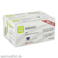 mylife GM300 Bionime Teststreifen, 75 ST, Ypsomed GmbH