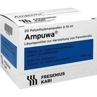 Ampuwa Plastikampullen, 20X10 ML, Fresenius Kabi Deutschland GmbH