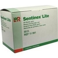 Sentinex Gesichtsm. lite grün, 50 ST, Lohmann & Rauscher GmbH & Co. KG