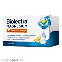Biolectra Magnesium 365 fortissimum Zitrone, 40 ST, Hermes Arzneimittel GmbH
