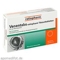 VENENTABS-ratiopharm Retardtabletten, 100 ST, ratiopharm GmbH