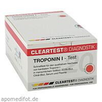 CLEARTEST TROPONIN I INFAR, 20 ST, Diaprax GmbH