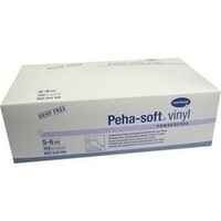 Peha-soft vinyl Untersuch.Handschuhe unst. Pfr. XS, 100 ST, Paul Hartmann AG
