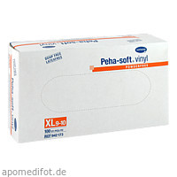 Peha-soft vinyl Untersuch.Handschuhe unst. Pfr. XL, 100 ST, Paul Hartmann AG