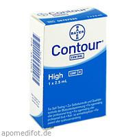 CONTOUR Kontrolllösung hoch, 1 ST, Ascensia Diabetes Care Deutschland GmbH
