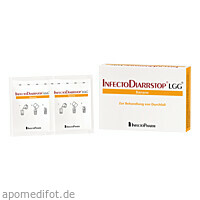 Infectodiarrstop LGG Banane, 6 ST, Infectopharm Arzn.U.Consilium GmbH
