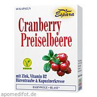 Cranberry-Preiselbeere, 60 ST, Espara GmbH