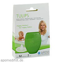 ARDO Tulips Brusthütchen Größe M, 2 ST, Ardo Medical GmbH
