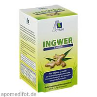 Ingwer 500mg Kapseln+Vit B1+C, 90 ST, Avitale GmbH