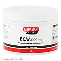 BCAA 1200mg MEGAMAX, 100 ST, Megamax B.V.