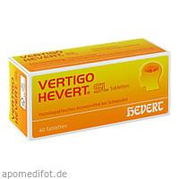 Vertigo Hevert SL, 40 ST, Hevert Arzneimittel GmbH & Co. KG