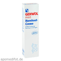 GEHWOL med Hornhaut-Creme, 125 ML, Eduard Gerlach GmbH