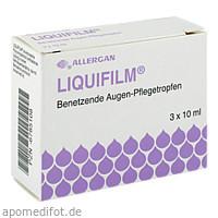 Liquifilm Benetzende Augen-Pflegetropfen, 3X10 ML, Allergan GmbH
