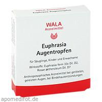 Euphrasia Augentropfen, 10X0.5 ML, Wala Heilmittel GmbH