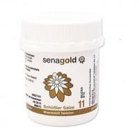 Biochemie Senagold Nr. 11 Silicea D 12, 400 ST, Senagold Naturheilmittel GmbH