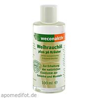 weconaktiv Weihrauchöl, 100 ML, Weber Consult