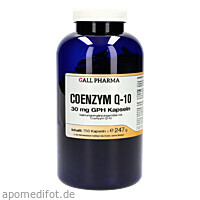 Coenzym Q-10 30mg GPH Kapseln, 750 ST, Hecht-Pharma GmbH