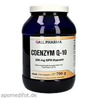 Coenzym Q-10 200mg GPH Kapseln, 1750 ST, Hecht-Pharma GmbH