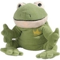 Wärme-Stofftier Frosch grün Willi, 1 ST, Greenlife Value GmbH