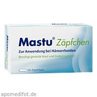 Mastu Zäpfchen, 10 ST, STADA Consumer Health Deutschland GmbH