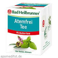Bad Heilbrunner Atemfrei Tee, 8X2.0 G, Bad Heilbrunner Naturheilm. GmbH & Co. KG