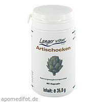 ARTISCHOCKEN-KAPSELN 400mg, 60 ST, Langer Vital GmbH