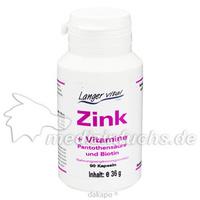 ZINK + VIT.B5 + BIOTIN, 90 ST, Langer Vital GmbH