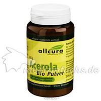 Acerola Bio Pulver, 80 G, Allcura Naturheilmittel GmbH