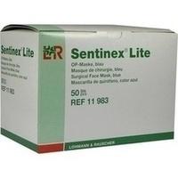 SENTINEX GESICHTSM LITE BLAU, 50 ST, Lohmann & Rauscher GmbH & Co. KG