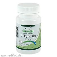 L-Tyrosin 500mg, 50 ST, Fairvital B. V.