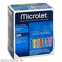 ASCENSIA Contour Microlet Lanzetten, 200 ST, Actipart GmbH