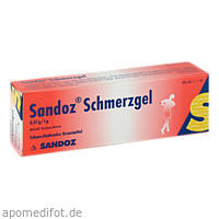 Sandoz Schmerzgel, 100 G, HEXAL AG