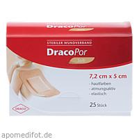 Dracopor Wundverband 7.2x5cm steril hautfarben, 25 ST, Dr. Ausbüttel & Co. GmbH