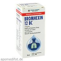 BROMHEXIN 12 BC, 50 ML, Berlin-Chemie AG